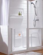 Mi piace immergersi nella bagno di casa: Piatti doccia disabili dimensioni muratura